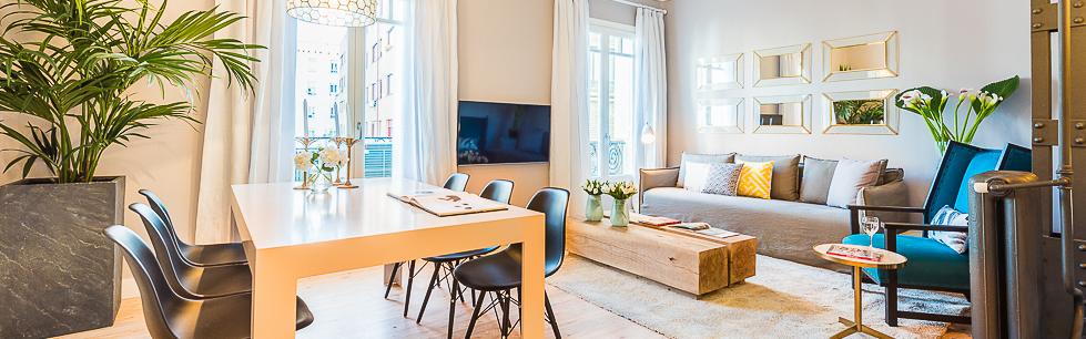 Alquiler de apartamentos madrid menendez pelayo vi for Oficina pelayo sevilla