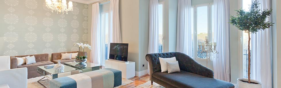 Alquiler de apartamentos de lujo en madrid spain select for Alquiler de apartamentos en sevilla espana