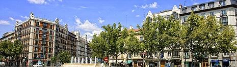 Alquiler de apartamentos en chamber madrid spain select - Zona chamberi madrid ...